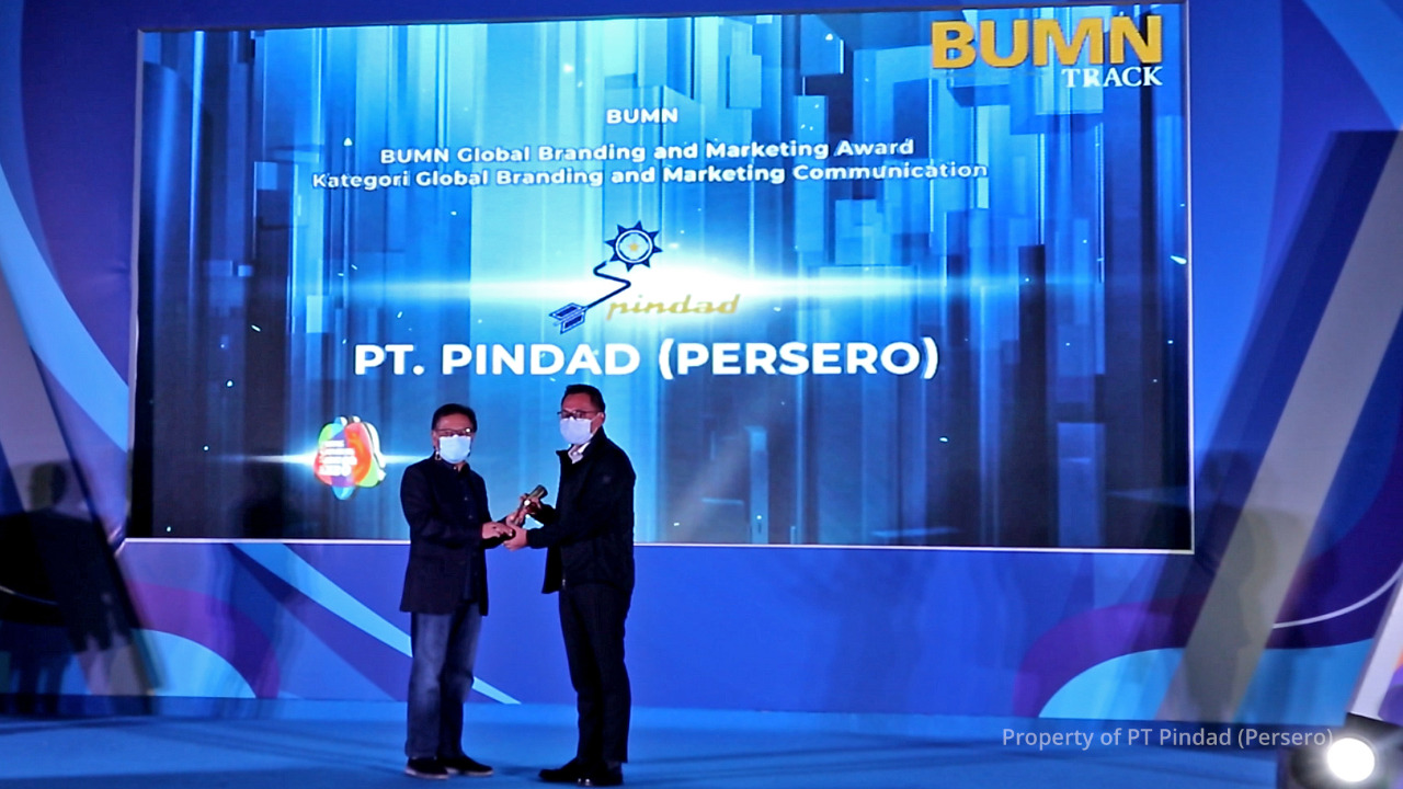 Pindad Raih 3 Penghargaan BUMN Branding & Marketing Award 2020