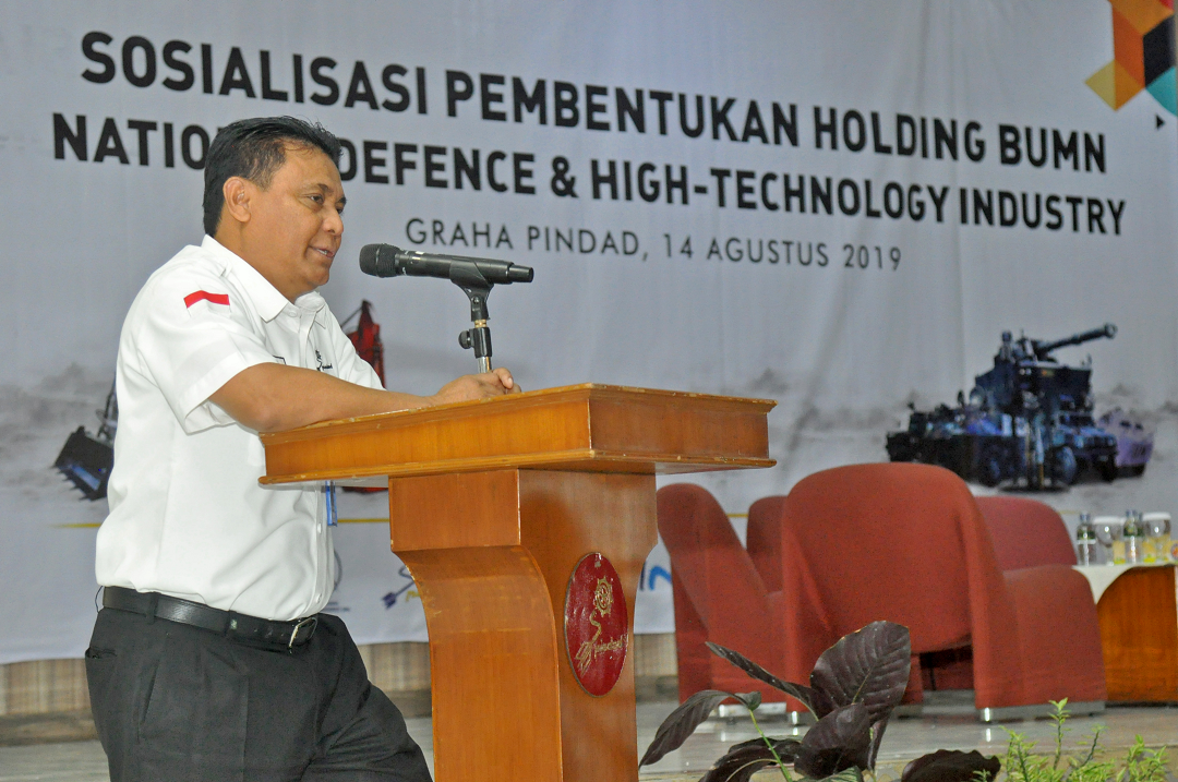 Pindad Gelar Sosialisasi Pembentukan Holding BUMN National Defence & High Technology Industry (NDHI)